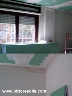 Cappotto interno per isolamento termico controsoffitto a - Isolamento termico soffitto interno ...