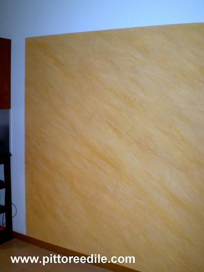 Spatolato veneziano cerato bicolore imbianchino roma - Pittura effetto spatolato per interni ...