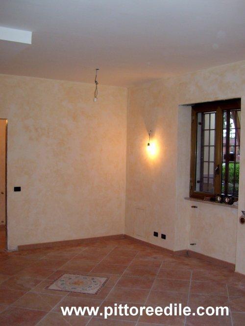 Velatura sala pranzo - Imbianchino Pittore Edile Roma