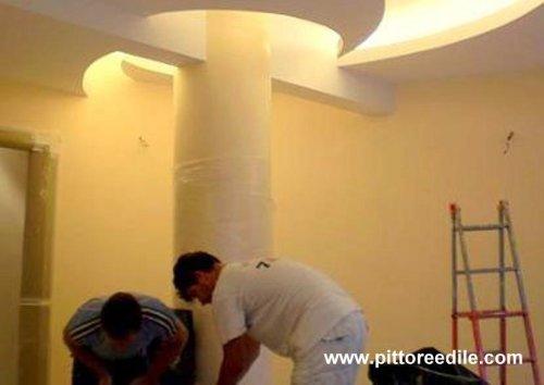 Colonna foto 3 - elemmenti decorativi in cartongesso  Imbianchino Pittore Edile Roma
