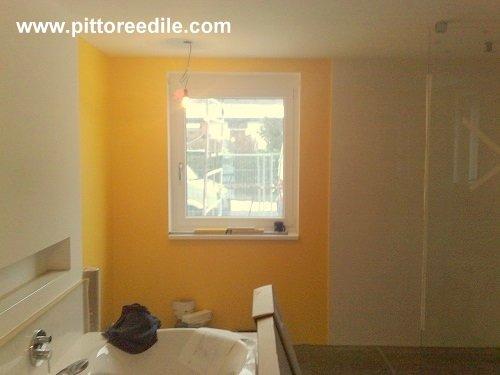 pareti bagno pittura : Tinteggiatura a smalti murali - pareti bagno - Imbianchino Pittore ...