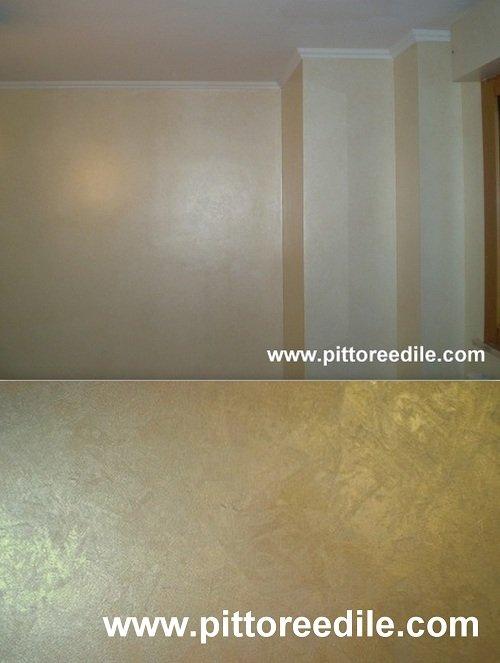 pittura parete grigio perla On pittura spatolato grigio perla