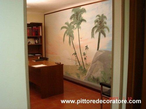 Decorazioni artistiche dipinti su pareti legno mobili - Decorazioni in legno per mobili ...