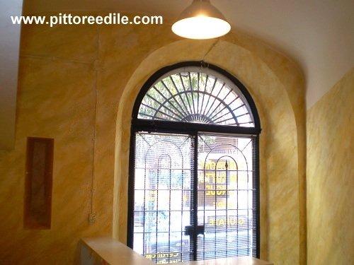 Velatura bicolore effetto antichizzante pareti studio, San Giovanni ...