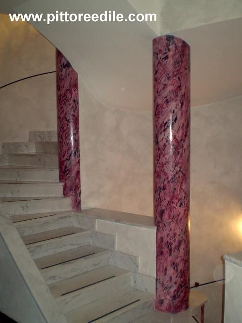 Elementi decorativi montaggio e decorazione di colonne - Archi in gesso per interni ...