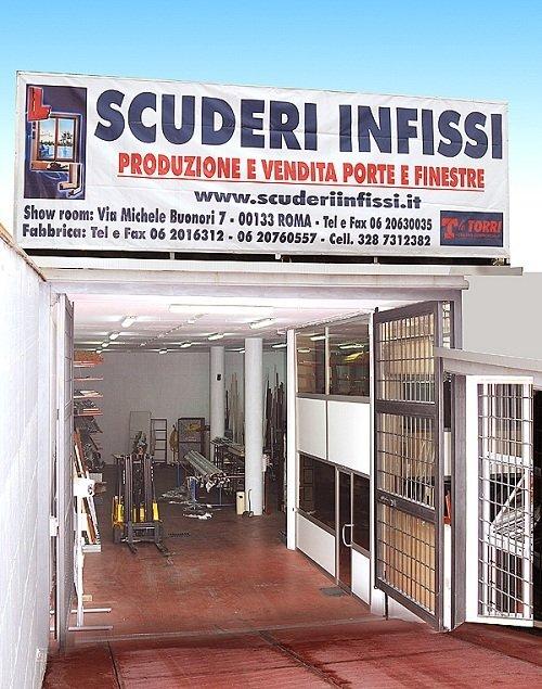 Fabbrica infissi in alluminio roma posa serramenti for Infissi in alluminio prezzi roma