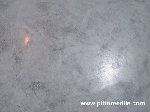 Effetto dello stucco spatolato effetti decorativi for Stucco veneziano argento
