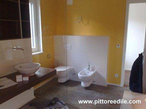 Immagine 49 53 foto sul lavoro - Smalto per pareti bagno ...