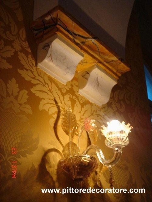 Decorazioni artistiche dipinti su pareti legno mobili - Decorazioni artistiche ...