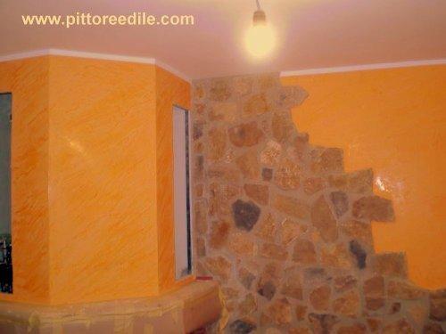 Foto elementi decorativi imbianchino roma cartongesso - Decorazioni camino ...