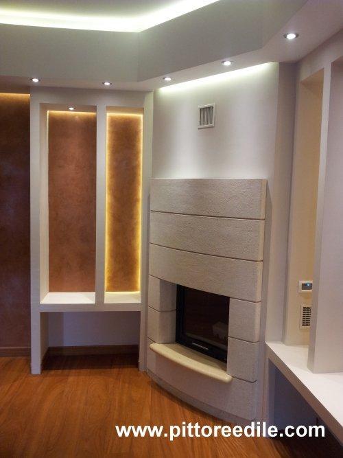 Pareti e pareti cool abbinare i colori dei quadri for Pareti salone